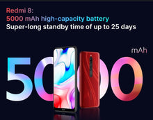 Load image into Gallery viewer, Global ROM Xiaomi Redmi 8 4 GB 64 GB Octa-core Snapdragon 439 processor 12 MP dual camera Smartphone  5000 mAh Redmi 8 - Vipbeautycompany