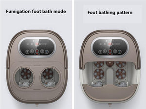 Automatic heating foot massage foot bath electric foot wash basin over deep bucket foot bath foot healing machine - Vipbeautycompany