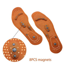 Load image into Gallery viewer, 1 pair of improved blood circulation magnetic therapy hallux valgus healing foot insole health gift - Vipbeautycompany