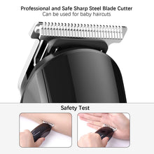 Load image into Gallery viewer, Hair trimmer Professional hair clipper electric hair clipper electric shaver beard trimmer man shaving machine cut nose electric - Vipbeautycompany
