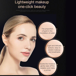 Air Cushion Mushroom Head BB Cream Moisturizing Foundation Concealer Waterproof BB Cream Brighten Air-permeable Korean Makeup - Vipbeautycompany