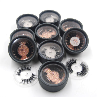 3D Mink eyelashes invisible band soft natural real hair luxury Cruelty Free 100% hand made customize Private label eye makeup - Vipbeautycompany