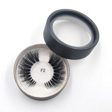 Load image into Gallery viewer, 3D Mink eyelashes invisible band soft natural real hair luxury Cruelty Free 100% hand made customize Private label eye makeup - Vipbeautycompany