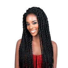 Load image into Gallery viewer, VIP Synthetic Lace Front Wig Afro 2x Twist Braids Wigs For Black Women - Vipbeautycompany