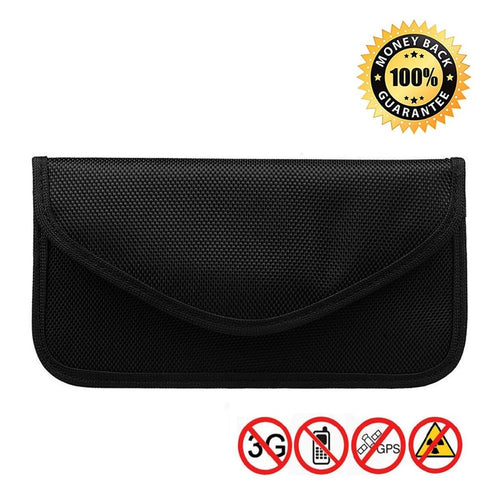 3 Size Signal Blocking Faraday Bag,Anti-Radiation,Anti-Hacking,Tracking, Spying for Cell Phones,GPS, RFID,Car Key FOB,EMF case - Vipbeautycompany