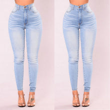 Load image into Gallery viewer, ITFABS Newest Arrivals Fashion Hot Women Lady Denim Skinny Pants High Waist Stretch Jeans Slim Pencil Jeans Women Casual Jeans
