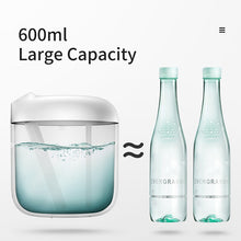 Load image into Gallery viewer, Baseus Humidifier Air Diffuser Difusor For Home Office 600 ml Large Capacity Air Humidifier Humidificador With LED Lamp