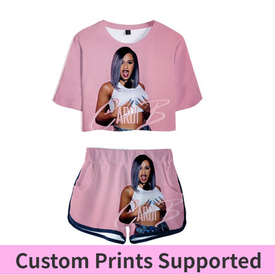 Pink Outfit Two Piece Short Set For Women Outfits 2019 2 Piece Set Women Ropa Sexy Sweatsuit Summer Tops Ensemble Femme
