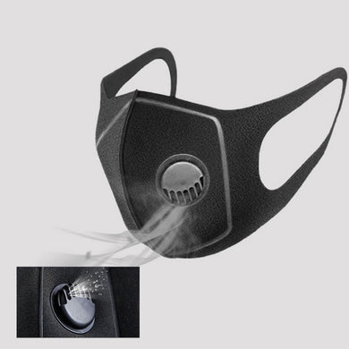 Anti Dust Face Mouth Cover Mouth Masks Reusable PM2.5 Mask Dustproof Outdoor Travel Protection With Breath Valve - Vipbeautycompany