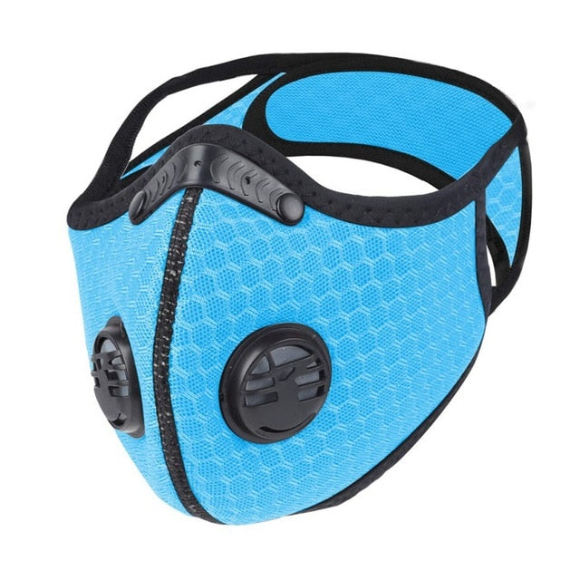 Bicycle Mask Face Protective Mask Anti-Dust Paint PM2.5 Filter Masks Activated Carbon Fire Escape Breathing Apparatus