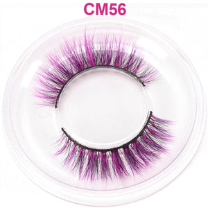 OKAYLASH Newest High End 3D Colored Real Mink Eyelashes Luxury  Rainbow Colorful Natural Cosplay  Eye lashes - Vipbeautycompany