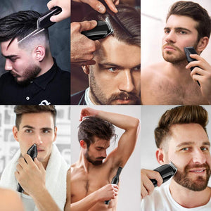 Hair trimmer Professional hair clipper electric hair clipper electric shaver beard trimmer man shaving machine cut nose electric - Vipbeautycompany