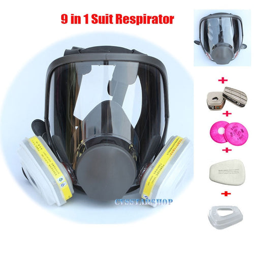 9 In 1 Painting Spraying Safety mask - Vipbeautycompany