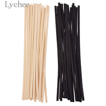 Load image into Gallery viewer, Lychee 20pcs 4mmx20cm Extra thick Rattan Reed Oil Diffuser Replacement Stick Incense Home Living Room Aromatic Incense - Vipbeautycompany