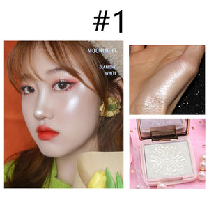 Novo Highlighter Facial Bronzers Palette Makeup Glow Kit Face Contour Shimmer Powder Body Base Illuminator Highlight Cosmetics - Vipbeautycompany