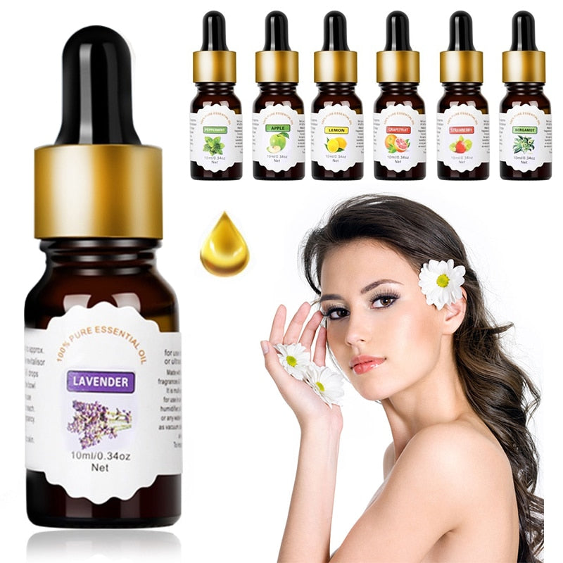 Pure Essential Oils For Aromatherapy Diffusers Flower Fruit Essential Oils Relieve Stress for Humidifier Skin Care TSLM1 - Vipbeautycompany