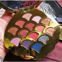 Load image into Gallery viewer, New 14 Colors Mermaid Shell Eyeshadow Pallete Shimmer Matte Pigmented Diamond Glitter Eyeshadow Palette Makeup Palette - Vipbeautycompany