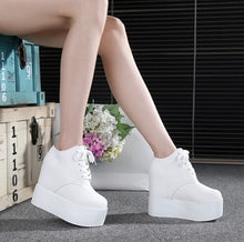 Load image into Gallery viewer, Vulcanize Shoes Women 2020 European Style Thick Bottom Waterproof Platform Sneakers Womens Simple Trendy Walking Shoe Outdoor - Vipbeautycompany