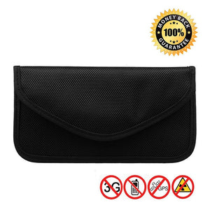 3 Size Signal Blocking Faraday Bag,Anti-Radiation,Anti-Hacking,Tracking, Spying for Cell Phones,GPS, RFID,Car Key FOB,EMF case