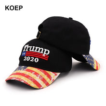 Load image into Gallery viewer, Donald Trump  Cap Camouflage USA Flag Baseball Caps Make America Great Again Snapback President Hat Embroidery Wholesale - Vipbeautycompany