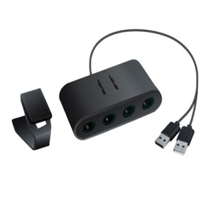 2 In 1 GameCube Controller Adapter Converter ForWii U PC For WiiU For Nintend Switch For NS - Vipbeautycompany