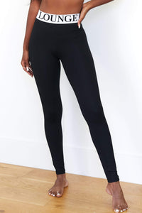 REBORN Black High Waisted Leggings Set