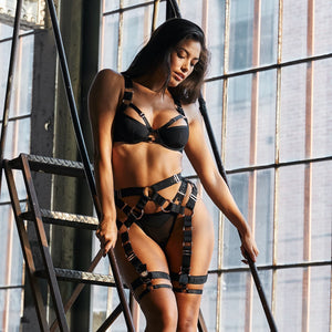 Storm Black Intimates Set