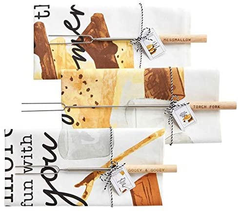 Mud Pie S'more Towel/Stick Set
