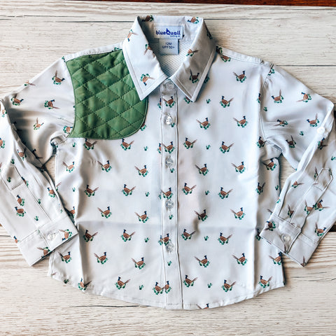 BlueQuail Pheasant Long Sleeve Shirt