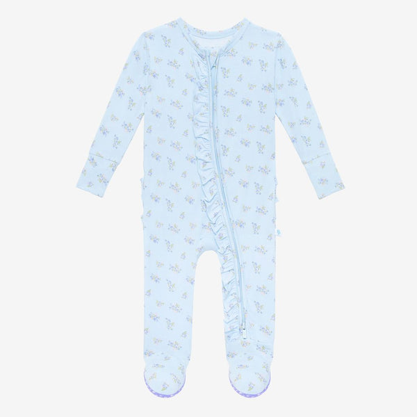 Posh Peanut Grace Zippered Footie