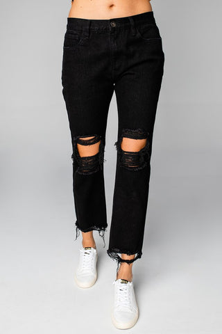 Rosco Distressed Jeans - Black