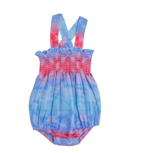 AD Smocked Sunsuit