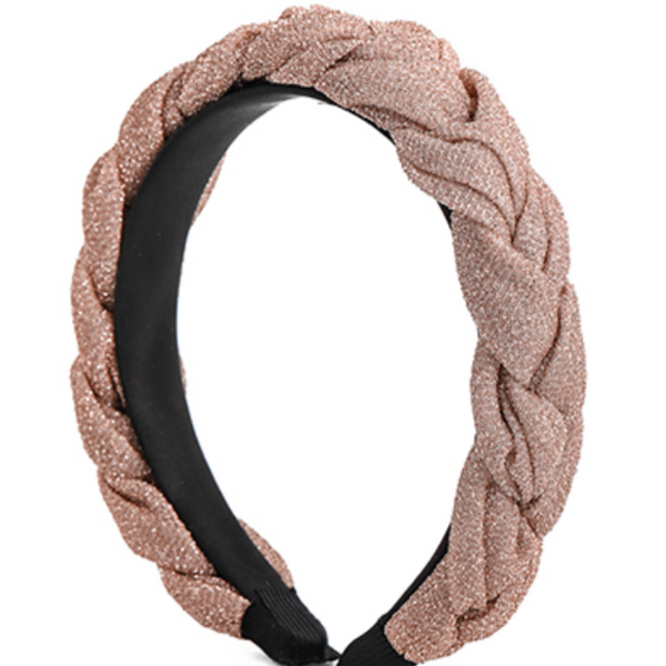 Braided Shimmer Headband