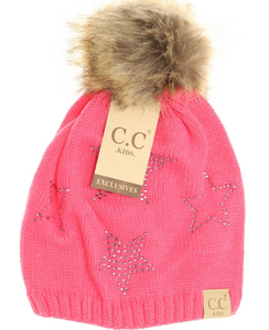 Kids Star Bling Beanie