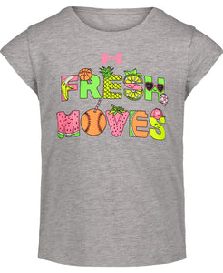 UA Fresh Moves Girls Tee