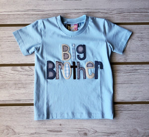 Applique Big Brother Shirt