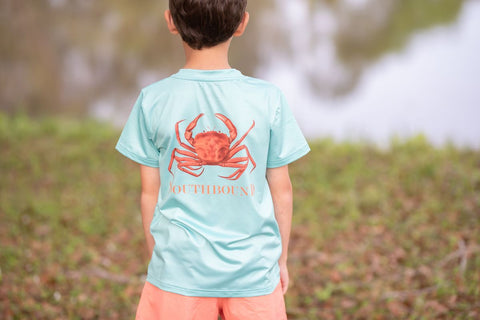 Southbound Boys Crab Tee