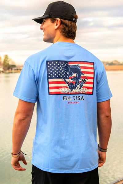 Burlebo T-Shirt - Fish USA