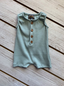 EJ Sage Ribbed Shortall