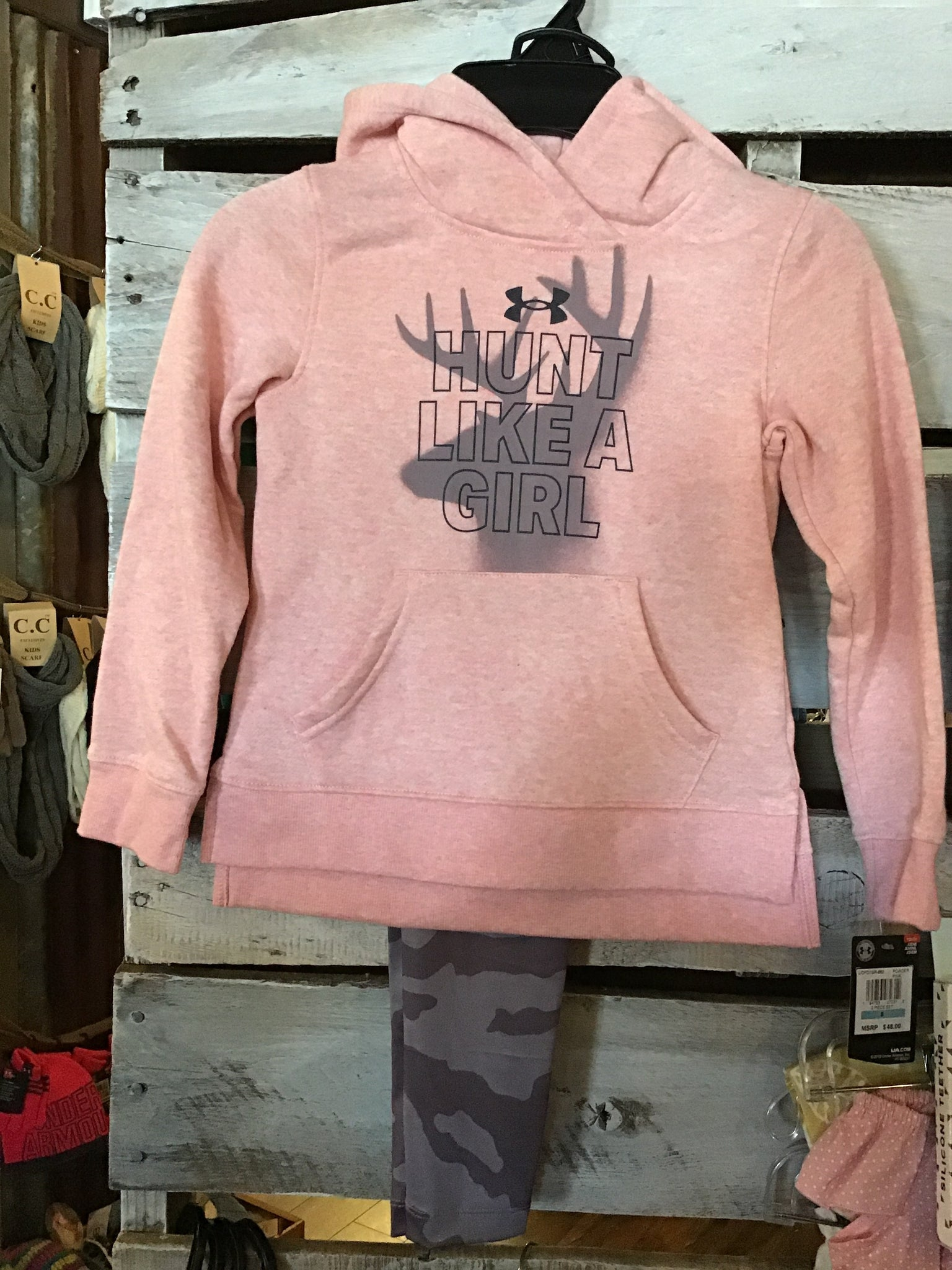 UA Hunt Like A Girl Hoodie Set