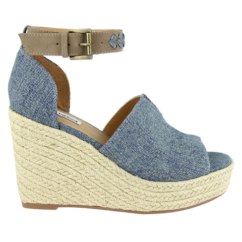 Denim Leif Wedge