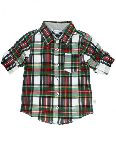 RB Juniper Plaid Boys Shirt