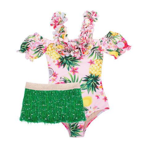 Shade Critters Hula Girl Swimsuit