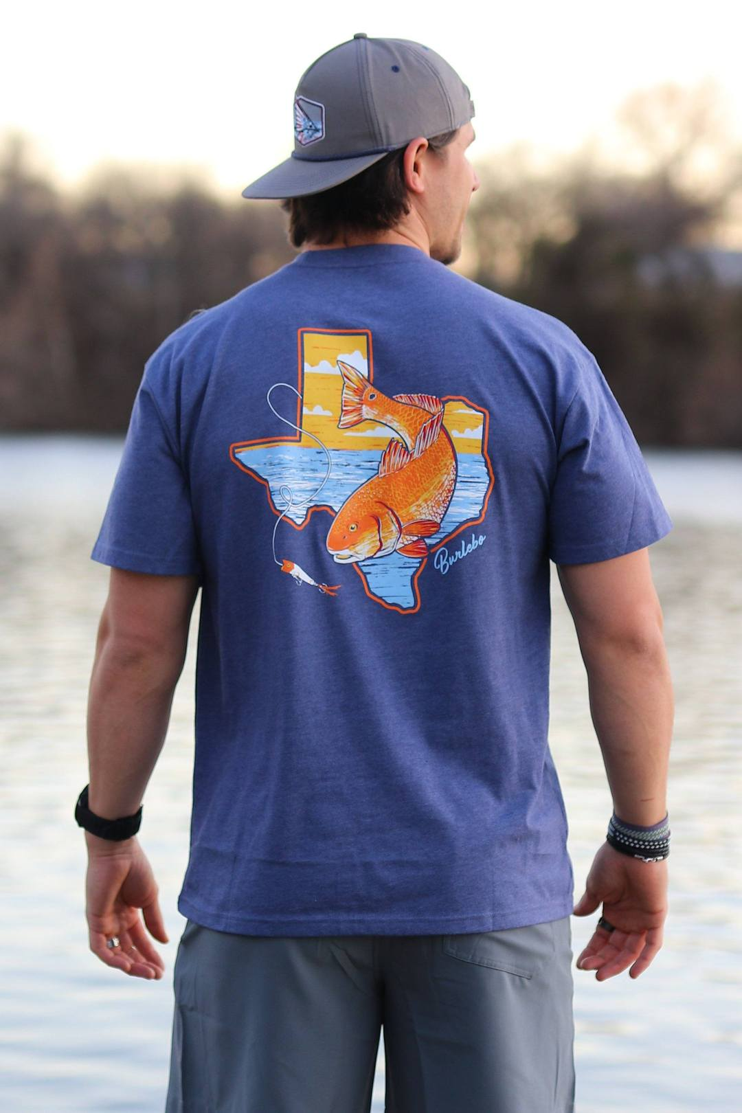Burlebo T-Shirt - TX Red Fish