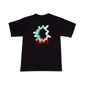 Open image in slideshow, SPRAY TEE BLACK