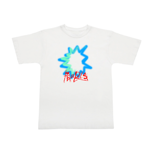 Open image in slideshow, SPRAY TEE WHITE