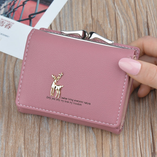 Cute Girls Deer Wallet