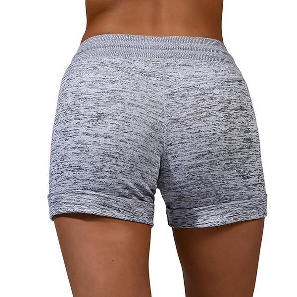 Women's Baseball Stitches Printed Casual Shorts