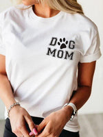 Load image into Gallery viewer, Dog Mom Short Sleeve T-Shirt