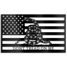 Don't Tread on Me Metal Artwork